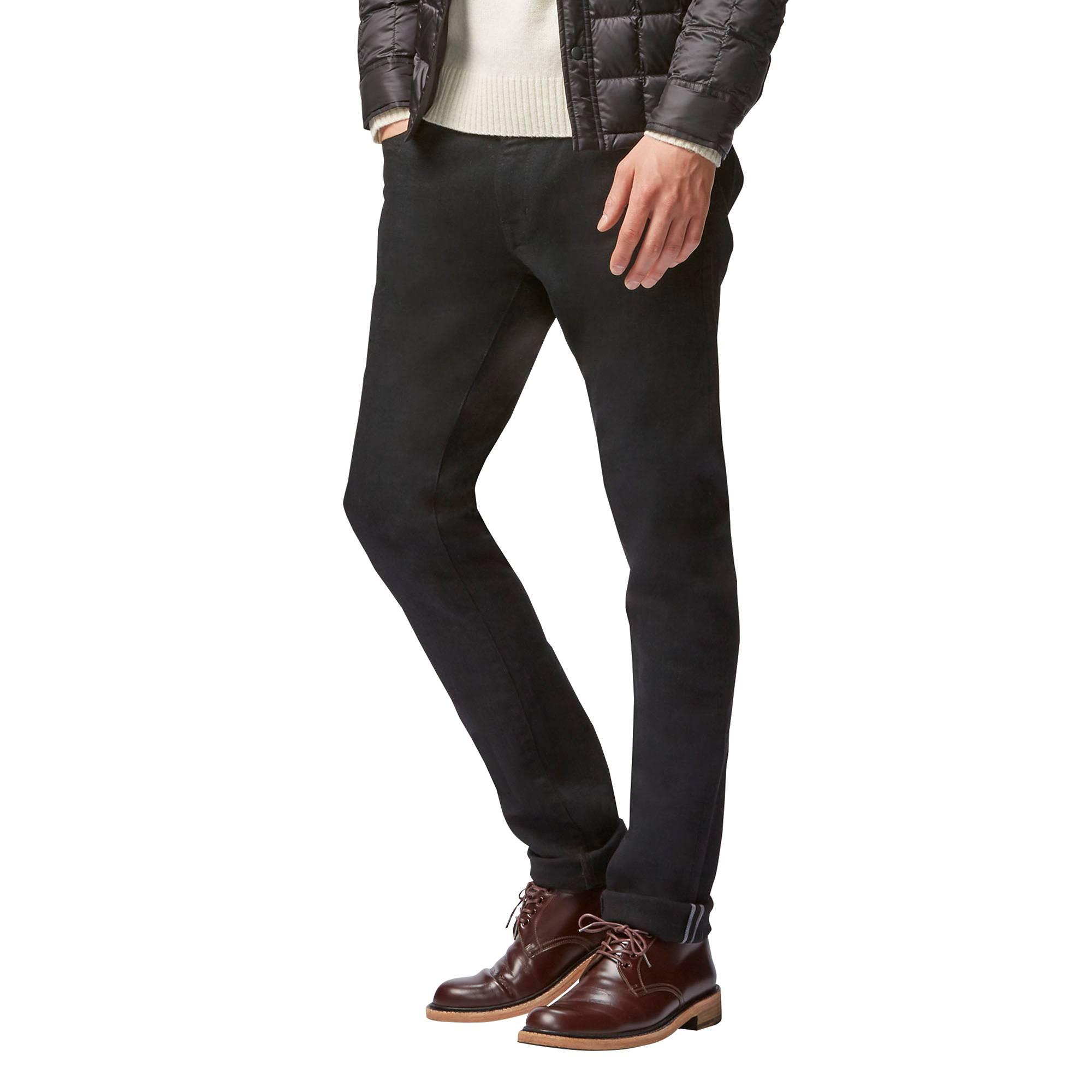 mens stretch jeans men stretch selvedge skinny jeans, navy, small akhnncr