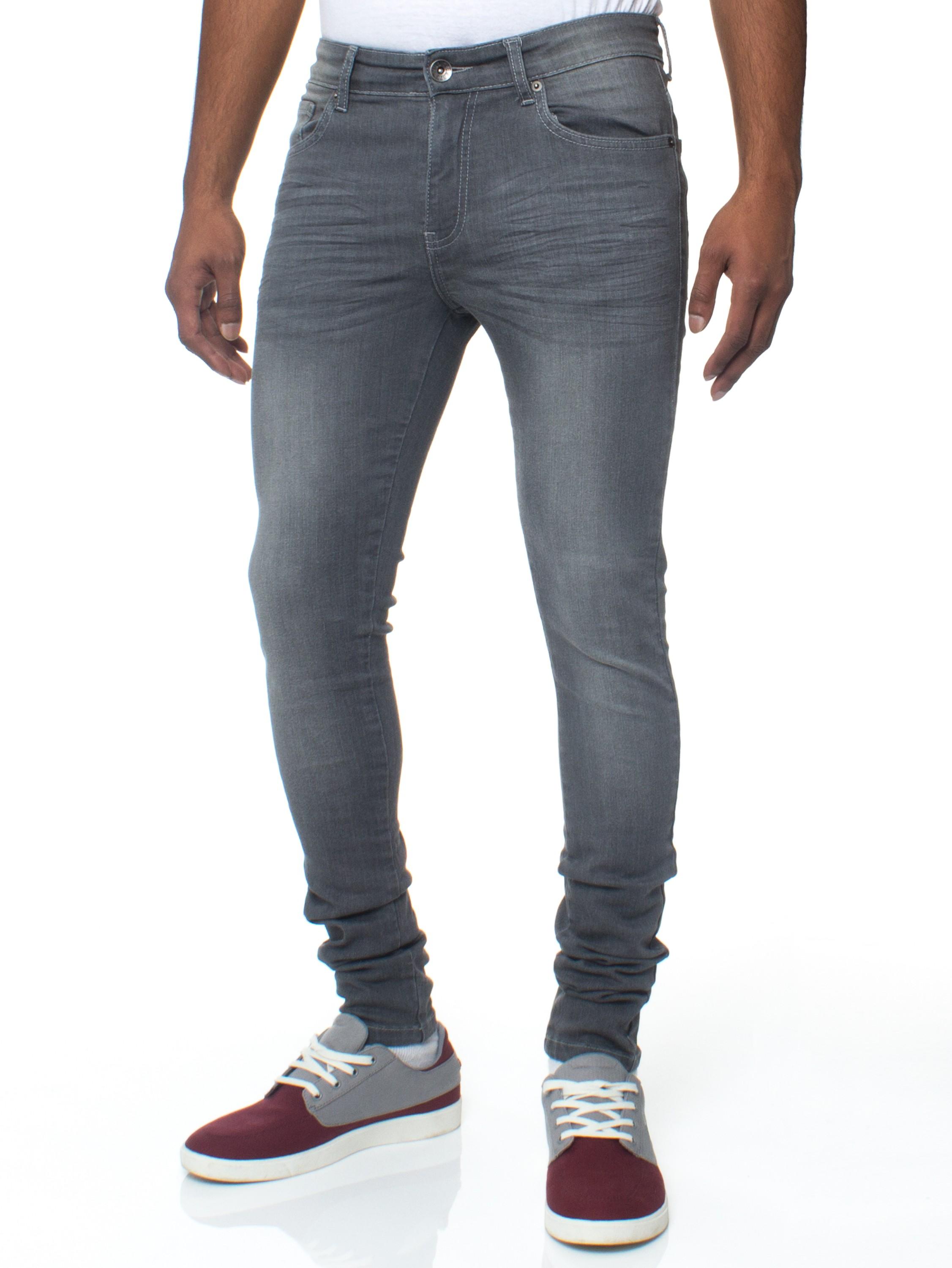 mens stretch jeans mens skinny slim fit stretch grey jeans rjfunko