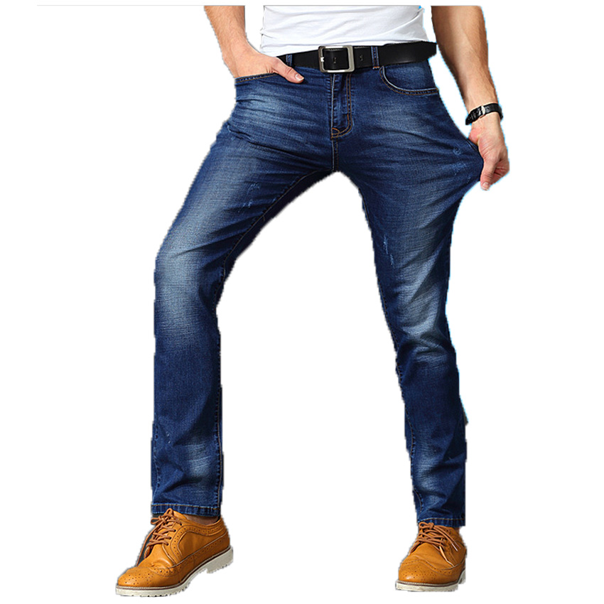 What determines the lifespan of men's stretch jeans?