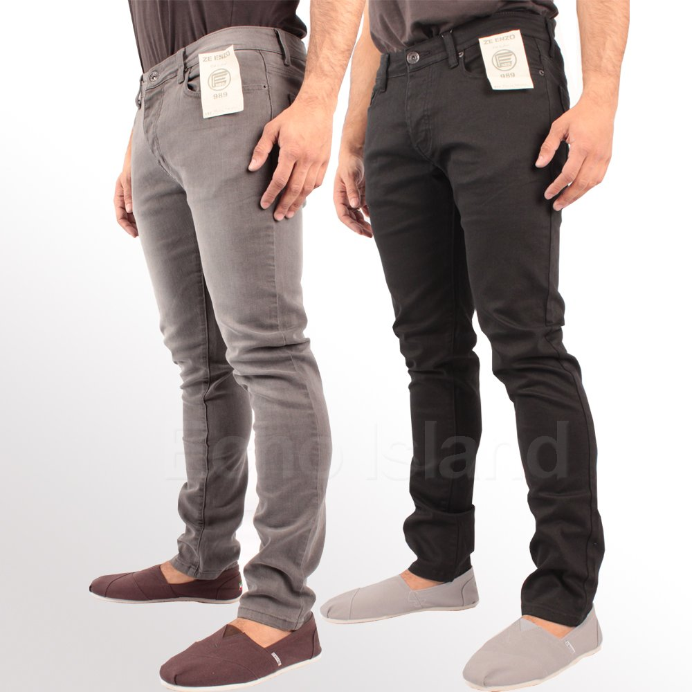 mens stretch jeans skinny fit stretch jeans ofpottk