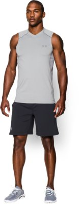 mens tank top menu0027s ua raid sleeveless t-shirt 6 colors $29.99 bnmhfcf