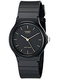 mens wrist watches casio menu0027s mq24-1e black resin watch qjcoury
