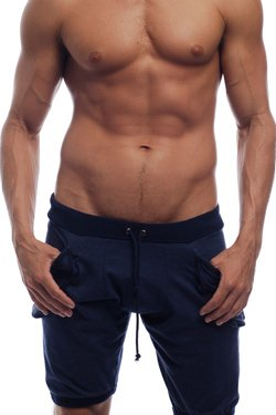 mens yoga shorts go softwear yoga shorts - navy (small) nukuxqk