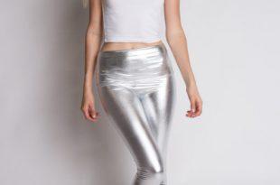 metallic leggings 1 ywdpxvf