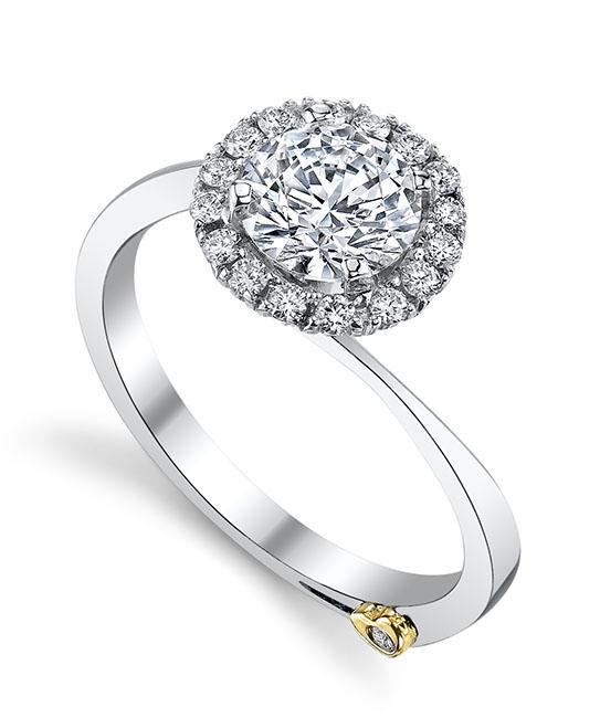 modern engagement rings angelic engagement ring - mark schneider design eobqhca