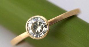 modern engagement rings moissanite facets - modern engagement ring srkrlad