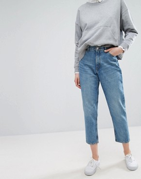 monki taiki high waisted mom jeans zzxfeqb