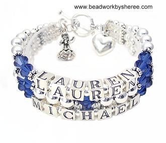 mother bracelets mothers bracelets bali silver style with accent strand $177.00 auxrlfc