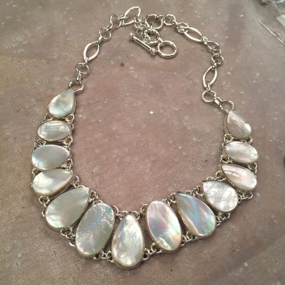 mother of pearl jewelry sterling silver mother of pearl necklace njevfup