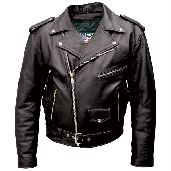 motorcycle leather jacket allstate leather inc. menu2032s black buffalo leather motorcycle jacket zsdrgzl