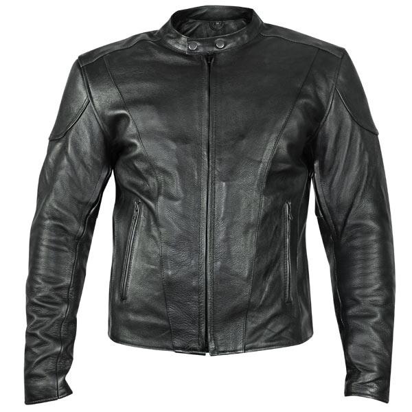 motorcycle leather jacket xelement b7209 u0027renegadeu0027 menu0027s black leather motorcycle jacket -  leatherup.com adlxmxa