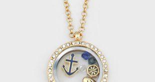 nautical jewelry nautical memory necklace -- xbvxrpu