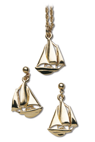 nautical jewelry pendants and earrings dunelwk