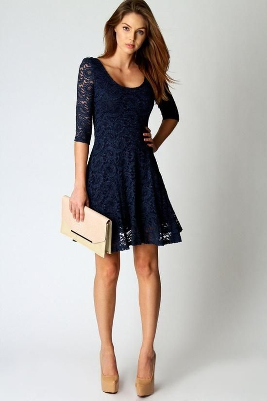navy dresses delicate lace dress trends for women xvswhjk