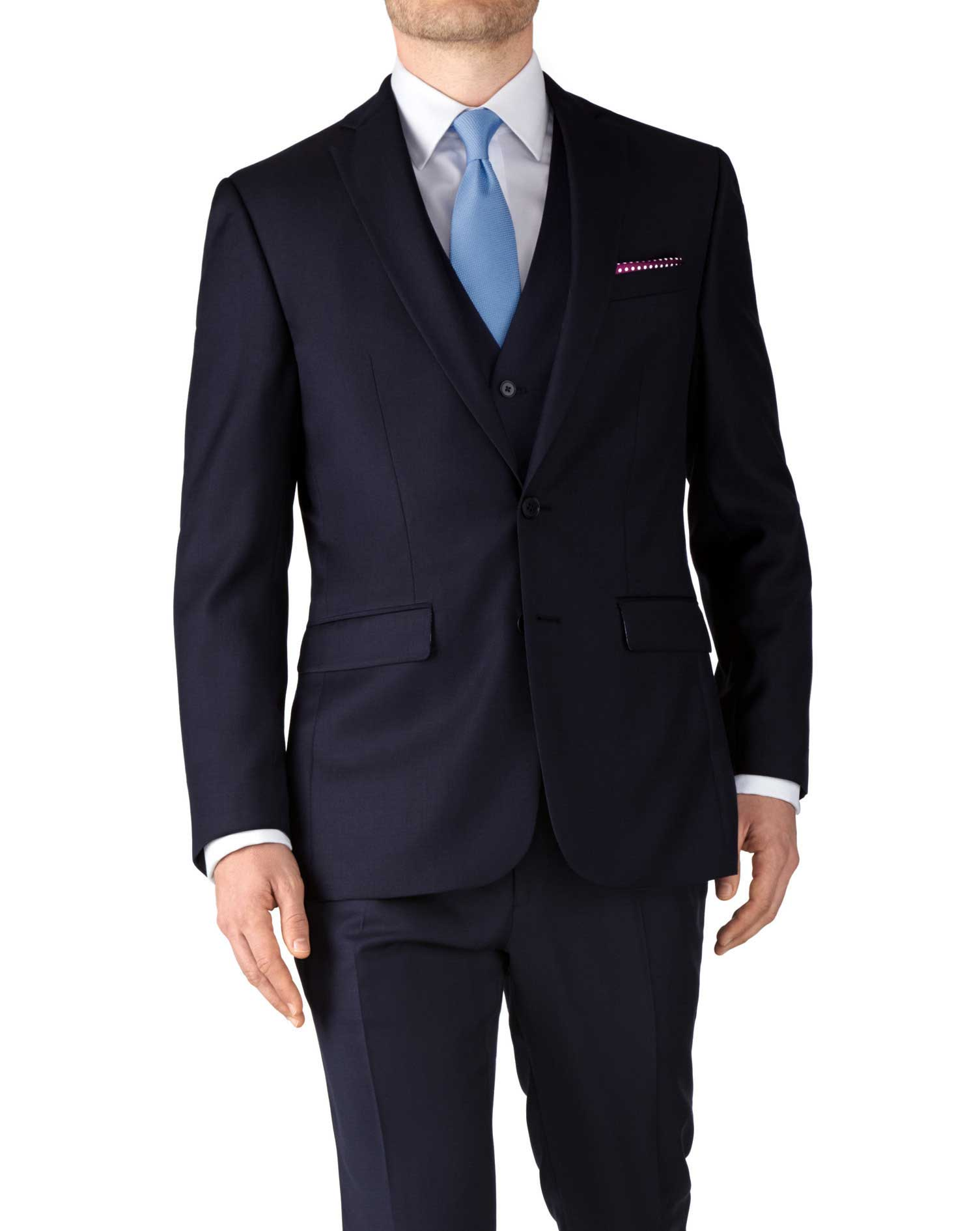 navy slim fit twill business suit jacket bebwkqj