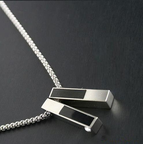 Necklace designs for men new design menu0027s necklace silver necklaces men neck chain fashion jewelry  pcs/lot-free shipping rmfqfnr