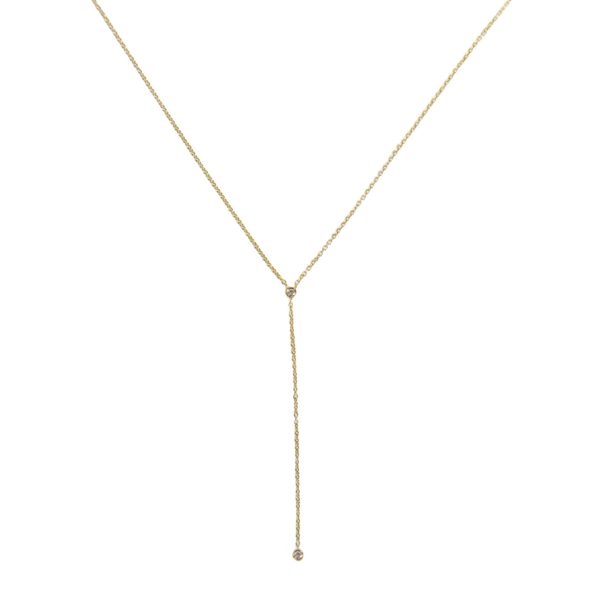 necklace - diamond lariat necklace oxlbmqp
