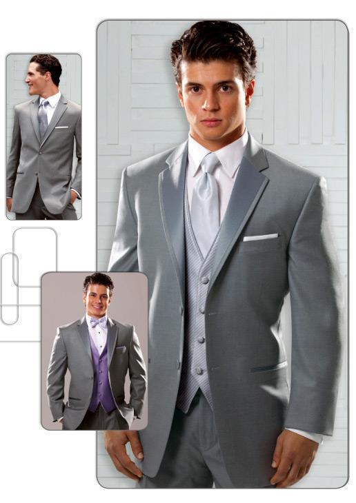 new arrival sterling grey grooms suits two buttons groom wedding suit best  man groomsman kjceboh