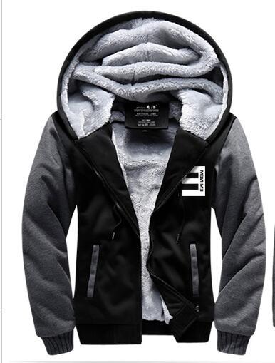new winter jackets and coats eminem hoodie hip hop hooded thick zipper men  women nxtadvm