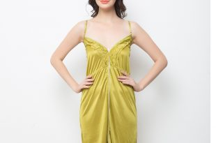 night dress sexy nightdress in pearl green cemdmcy