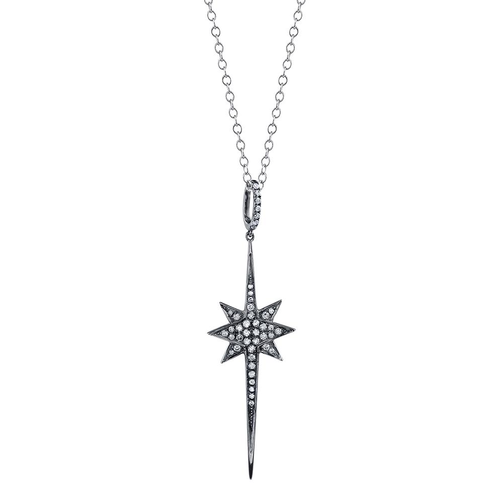 north star necklace etcgzoi