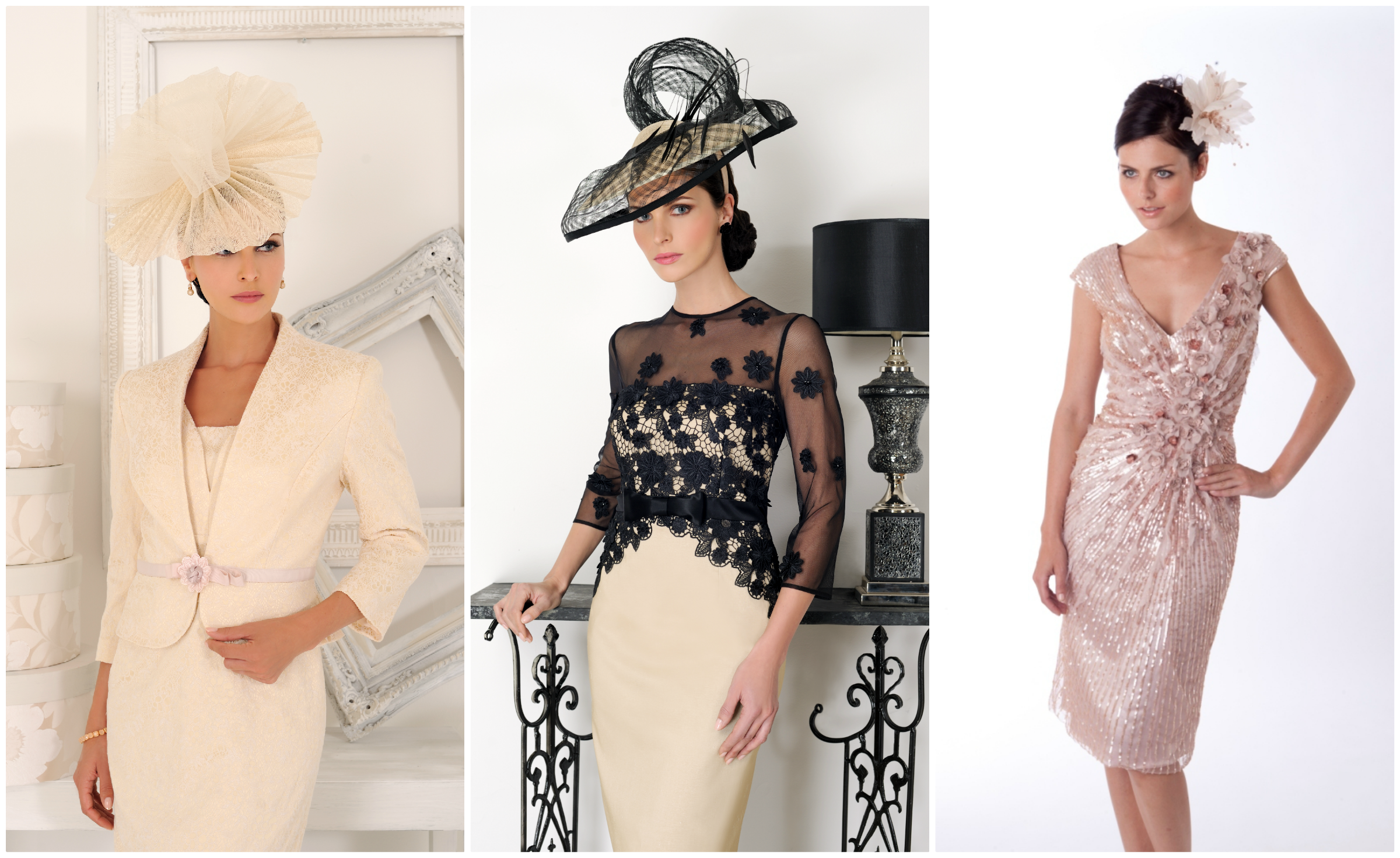 occasion wear show-stopping one off pieces will be available from designers including:  bernshaw, jill harvey, dress chmvebx
