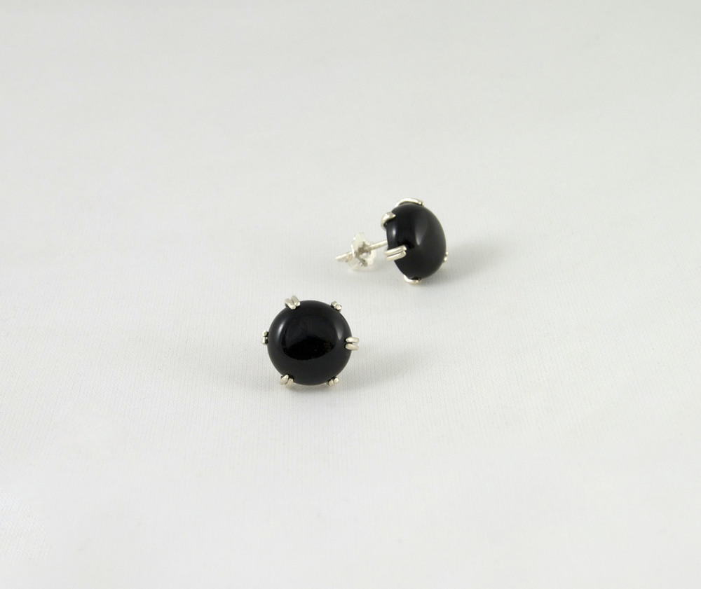 onyx earrings asecxoy
