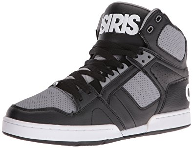 osiris shoes osiris menu0027s nyc 83 skateboarding shoe, black/grey, ... cflbyiy