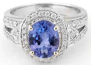 oval tanzanite rings ... zuwijbo