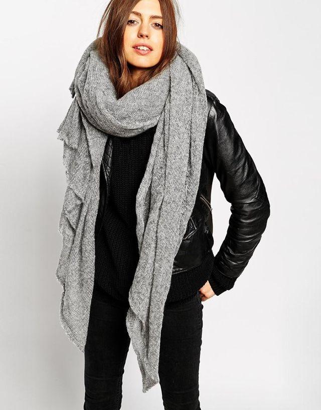 oversized scarf asos oversized knit scarf rinxoyp