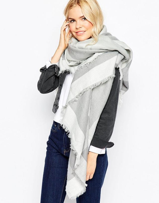 oversized scarf liquorish oversized blanket wrap check scarf nxiheph