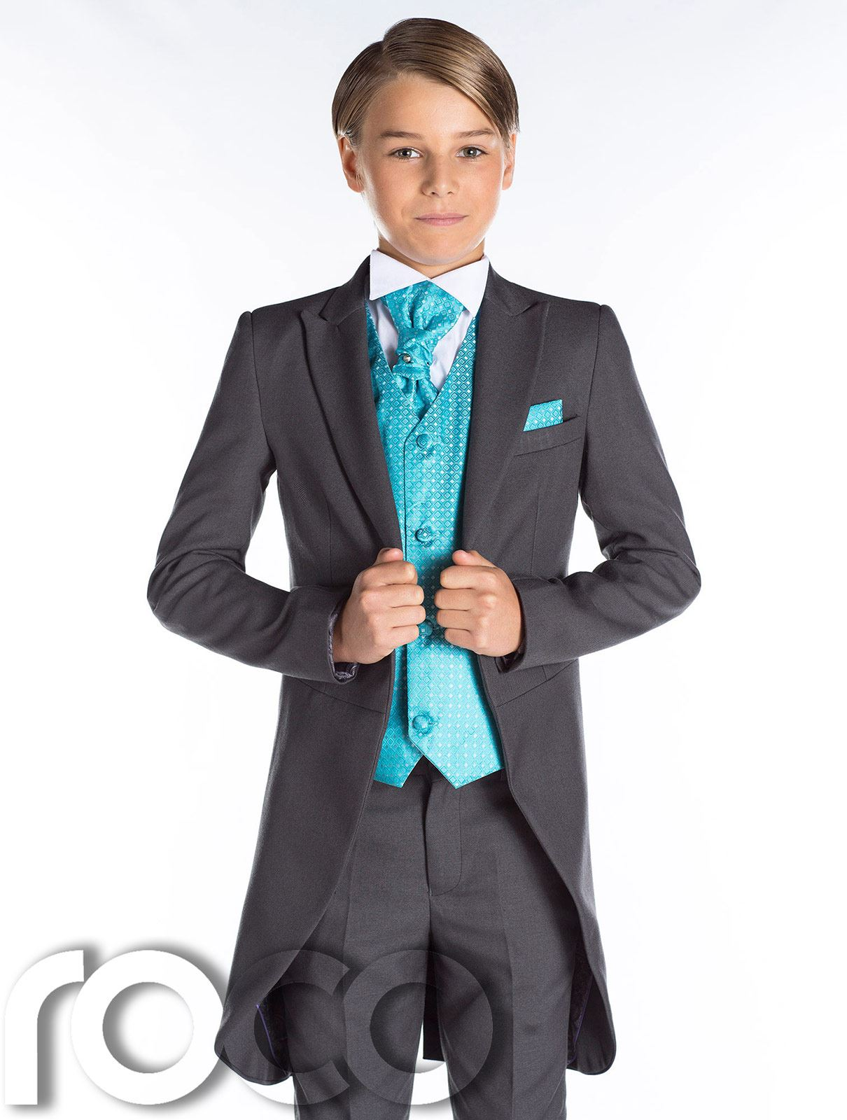 page boy suits boys-grey-tail-suit-prom-suit-page-boy- yxvqzlw