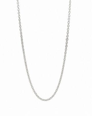 pandora. sterling silver chain necklace bknofsh