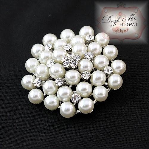 pearl brooch wedding cake brooches ... rpugvha