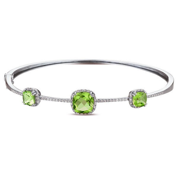 Some Ideas Of How To Wear Peridot Bracelet