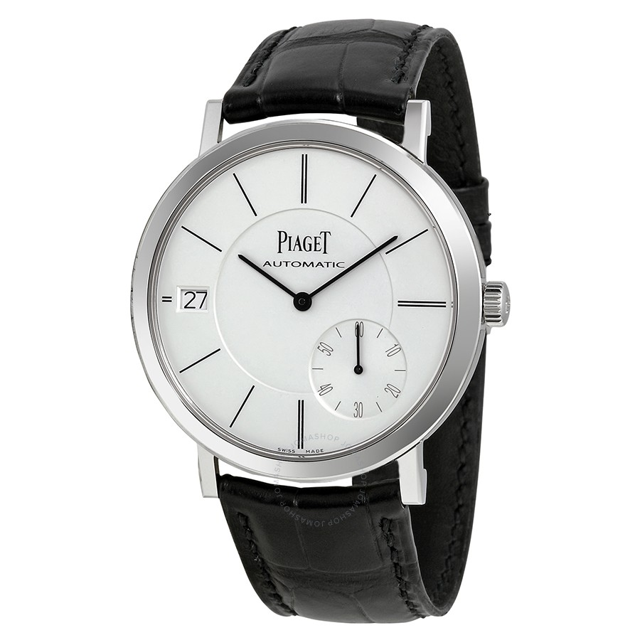 piaget watches piaget altiplano automatic silver dial menu0027s watch g0a38130 ... lbghpan