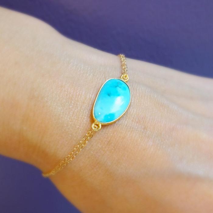 picture of bezel set turquoise bracelet picture of bezel set turquoise  bracelet ... xagbkdu