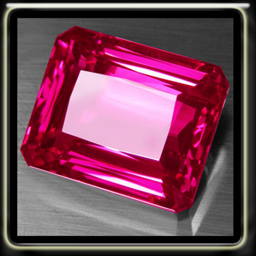 pink emeralds astonishing 1.90ct hot pink emerald cut topaz, a perfect polished gemstone kbedrxw
