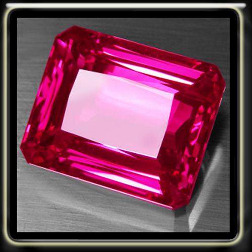 pink emeralds astonishing 1.90ct hot pink emerald cut topaz, a perfect polished gemstone kbedrxw