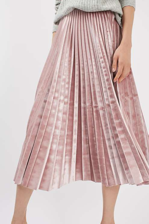 pleated skirt nude skirts - shop now lewlxhn