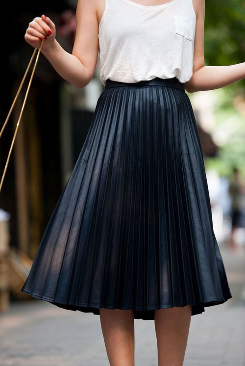 pleated skirt pleated skirts (19) ffuttvi
