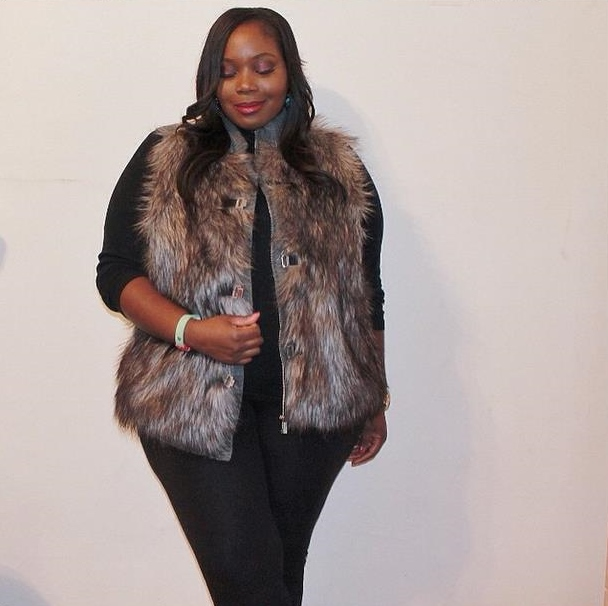plus size fur vest iu0027ve been wearing this vest non stop and every time i do, i always get rlhnnoq