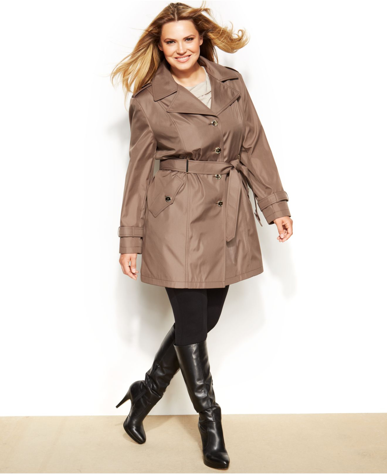 plus size trench coat gallery piomedc