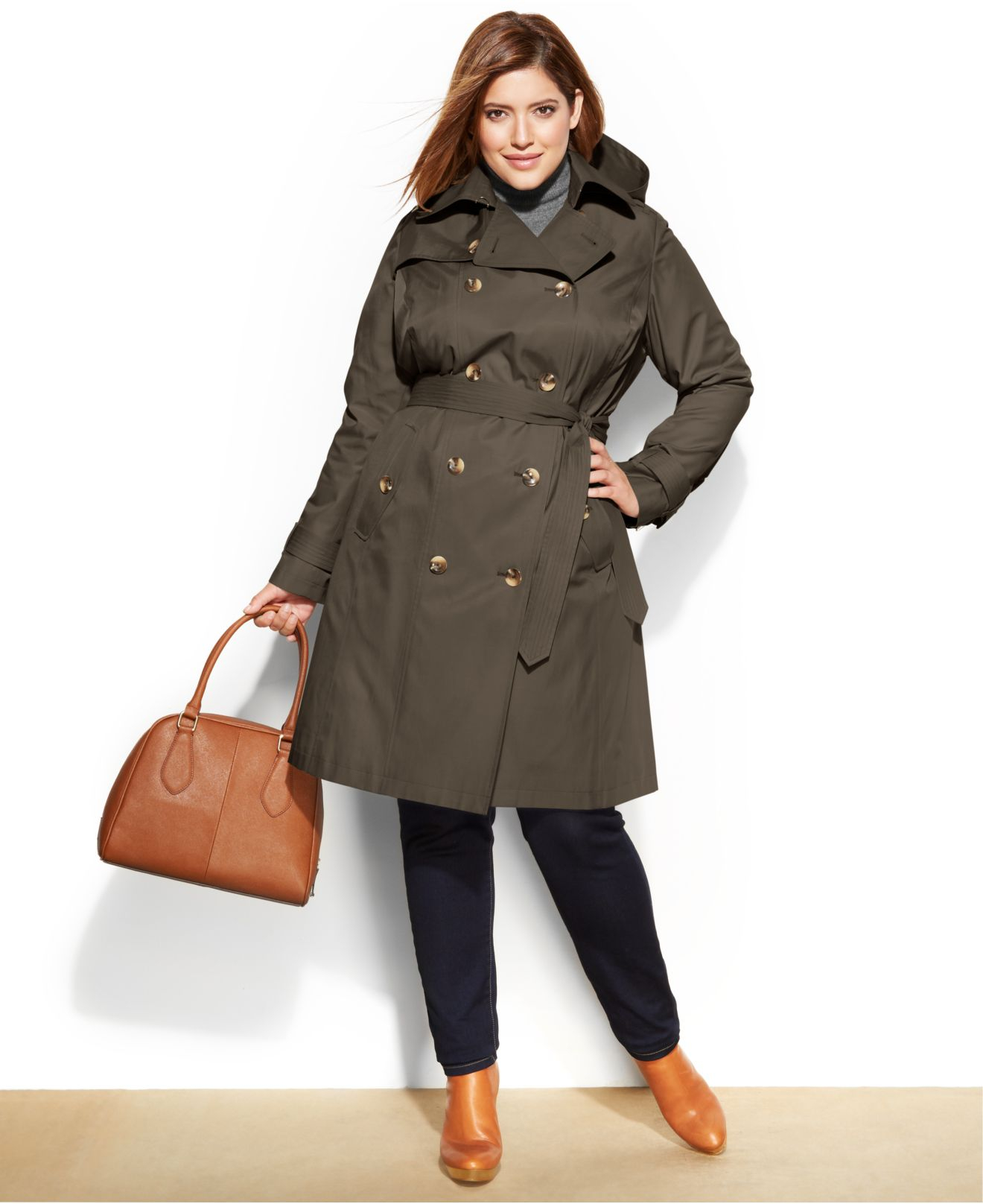 plus size trench coat long black wool trench coat womens tradingbasis zyqtkzr