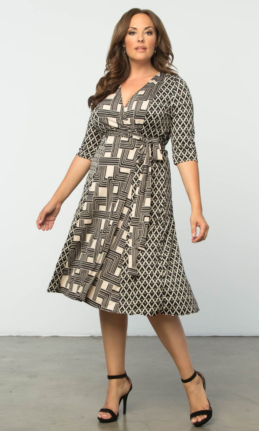 plus size wrap dress plus size trendy dress | in the mix wrap dress hqvejde