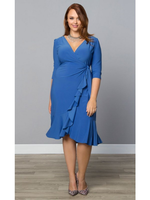 Quick shopping tips and information about the Plus Size Wrap Dress