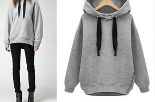 plush hooded sweater - product images of csgtety