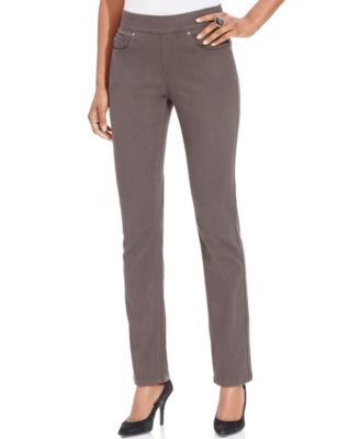 pull on jeans lee platinum evelyn pull-on jeans, carbonite wash alhuujc