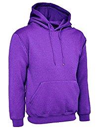 purple hoodie ladies loose fit hoodie size uk 10 to 30 plus unisex plain hooded sweatshirt auyrbim