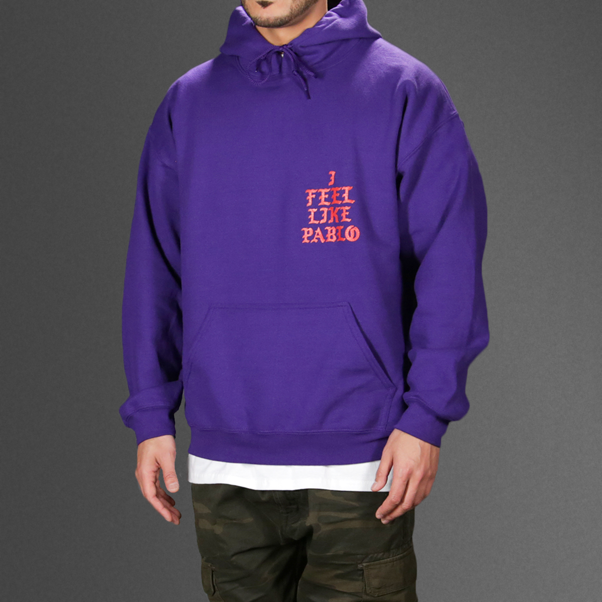 All the details about Purple Hoodie: